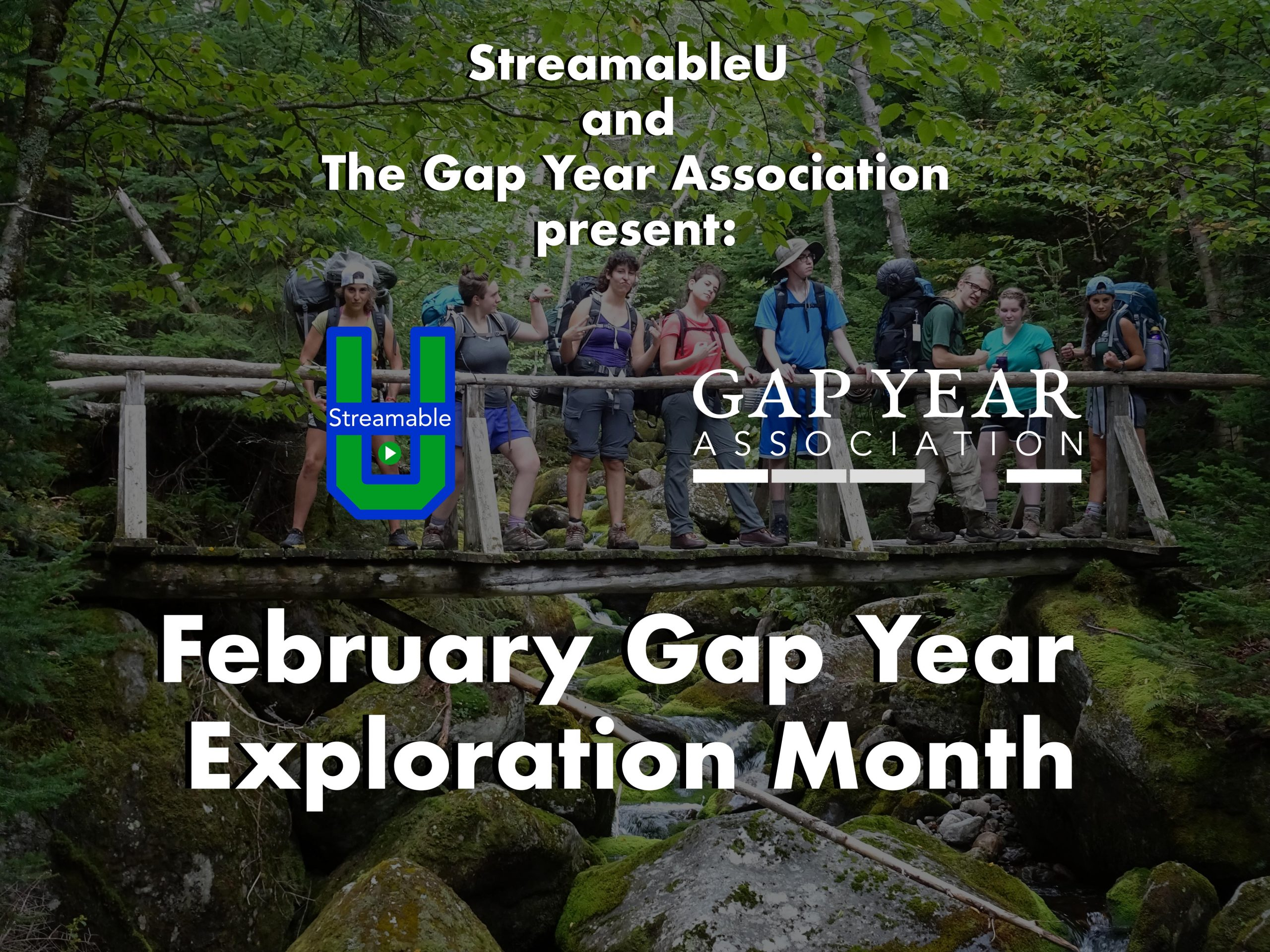 February is Gap Year Exploration Month!