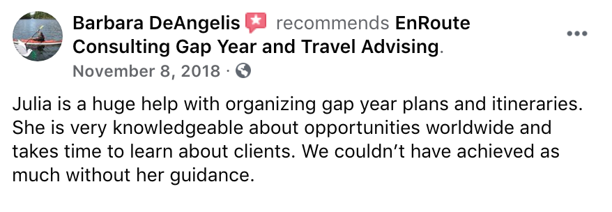 EnRoute Consulting_Facebook Review