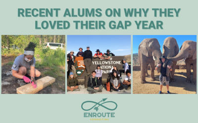 Recent Alums on Why They Loved Their Gap Year